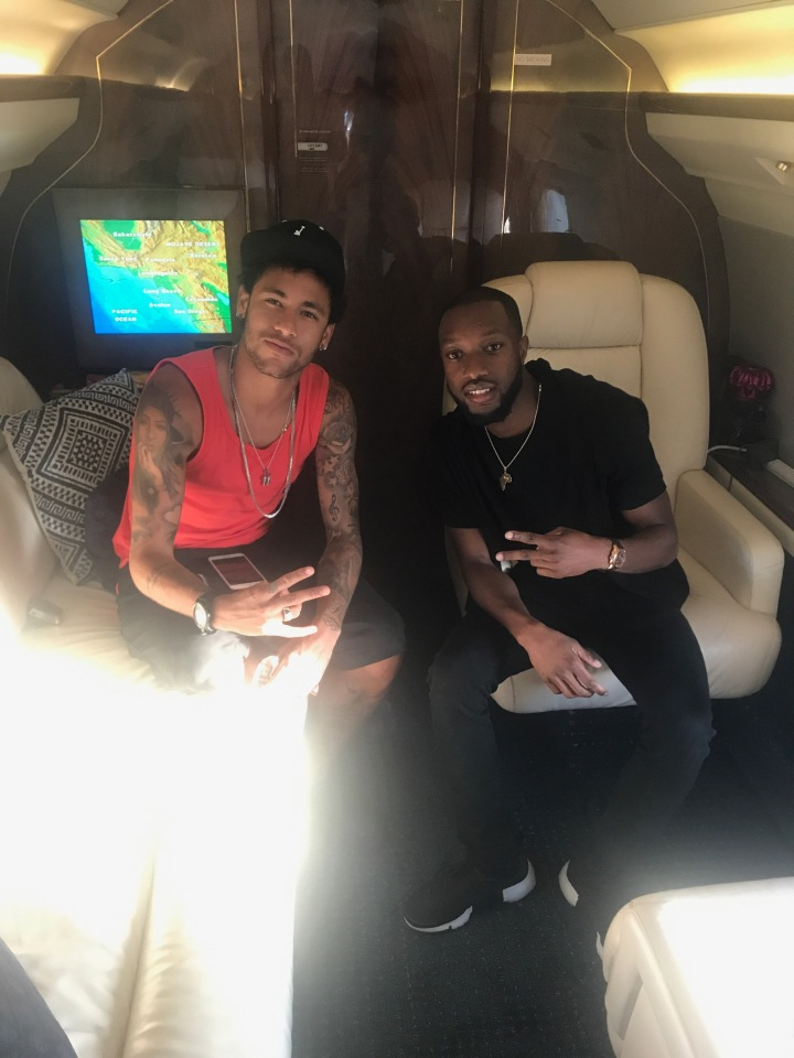 Jmulan Agency Client Soars the sky's with Soccer Sensation Neymar Jr.