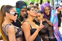 Kwan and Lala Hosts Amber Rose Slut Walk