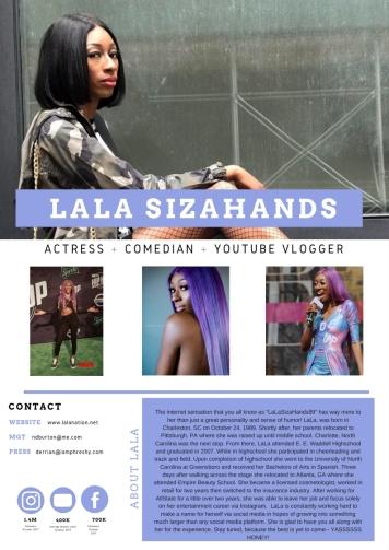 Lala Media page