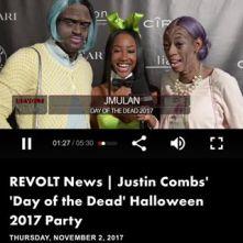 Kway & Lala and JMulan Justin Combs Halloween Party